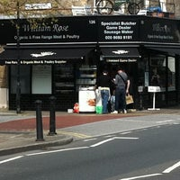 Photo taken at William Rose Butchers by Julio R. on 4/16/2011