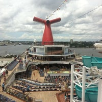 Photo taken at Carnival Freedom by Hayley T. on 6/2/2012