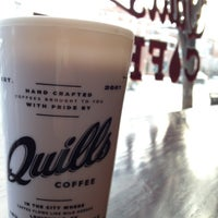 Photo taken at Quills Coffee by Jacob J. on 3/5/2012