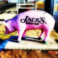 Photo taken at Jack's Bar-B-Que by Todd H. on 3/18/2012