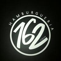 Photo taken at Hamburgueria 162 by Carolina on 8/18/2012