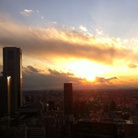 Photo taken at North Observatory, Tokyo Metropolitan Government Building by dolphin on 1/27/2012