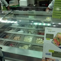 Photo taken at Salad Creations by Paulo P. on 12/20/2011