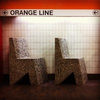 Photo taken at MBTA Downtown Crossing Station by Mary B. on 10/15/2011