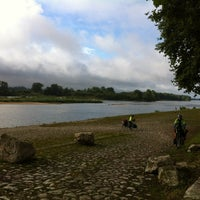Photo taken at Pont de Beaugency by martin p. on 7/31/2012