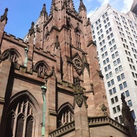 Photo taken at Trinity Church by Jackee B. on 5/24/2011