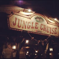 Photo taken at Jungle Cruise by risa on 11/13/2011