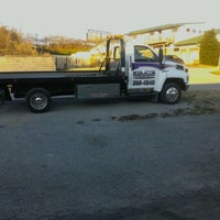 Photo taken at Hillwood Towing & Body Shop by Tony R. on 1/3/2012