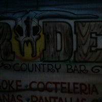 Photo taken at rodeo country bar by Rulo R. on 5/26/2012