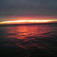 Photo taken at Rovinj Harbor by Alessandro P. on 9/1/2012