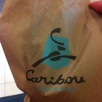 Photo taken at Caribou Coffee by Gerui L. on 3/4/2011