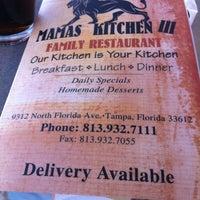 Photo taken at Mamas Kitchen by 💢💢Mayor Ry🍎ner💢💢 on 1/24/2012