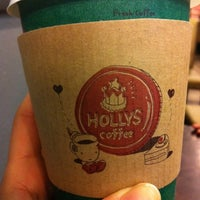 Photo taken at HOLLYS COFFEE by vioom on 12/31/2010