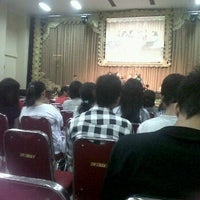 Photo taken at Bethany Hall, Gereja Bethany Indonesia Palangka Raya by Dheby C. on 11/12/2011
