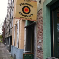 Photo taken at Staminee Den Boulevard by Koen H. on 4/7/2012