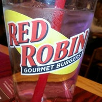Photo taken at Red Robin Gourmet Burgers by Brittany B. on 2/12/2012