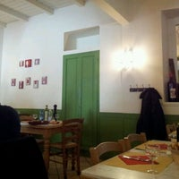 Photo taken at Osteria Al Nove by Matteo D. on 1/9/2012