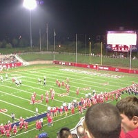 Photo taken at Kenneth P. LaValle Stadium by Michelle D. on 9/25/2011