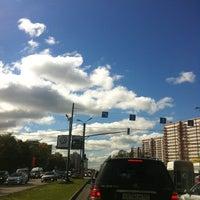 Photo taken at Улица Миклухо-Маклая by Леля H. on 8/30/2012