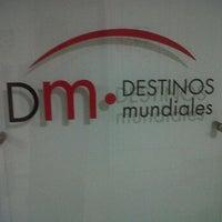 Photo taken at Destinos Mundiales by Omar M. on 11/17/2011