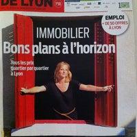 Photo taken at Tribune De Lyon by Vero L. on 10/11/2011