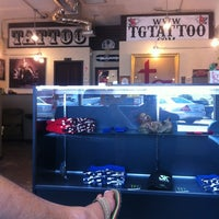 Photo taken at The Tattoo Gallery by Max D. on 3/21/2012