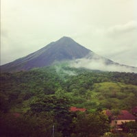 Photo taken at Volcán Arenal by Krista K. on 5/24/2012