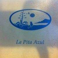 Photo taken at La Pita Azul by LV on 2/14/2012