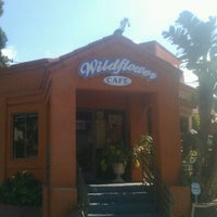 Photo taken at Wildflower Cafe by John G. on 2/18/2012