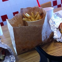 Photo taken at Five Guys by Russell M. on 10/21/2011