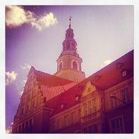 Photo taken at Ratusz w Olsztynie / Urząd Miasta Olsztyn by Waldemar H. on 5/19/2012
