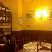 Photo taken at Restaurant La Font de Prades by Jordi B. on 11/12/2011