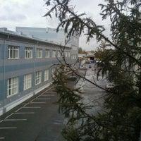 Photo taken at Бизнес парк ШТЕРН Эстейт (второе здание) by Andrey G. on 10/1/2011