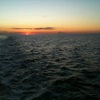 Photo taken at Hatteras-Ocracoke Ferry: Ocracoke Terminal by Kristen S. on 8/17/2011