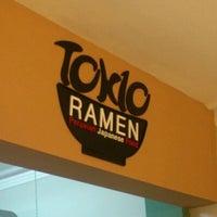 Photo taken at Tokio Ramen by Luis H. on 1/4/2012