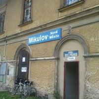 Photo taken at Železniční stanice Mikulov - Nové Město by Lindik on 8/22/2011