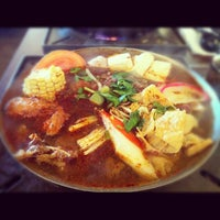 Photo taken at Boiling Point by Kathy Thanh B. on 5/12/2012