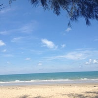 Photo taken at Mae Rumphueng Beach by I'am Putsa K. on 4/16/2012