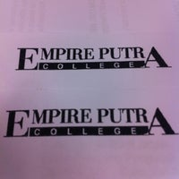 Photo taken at Empire Putra College by Nik H. on 5/17/2012
