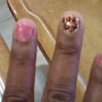 Photo taken at First Class Nails & Spa by Tasha M. on 6/2/2012