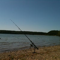 Photo taken at Cliff Pond by nicole D. on 7/22/2012
