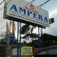 Photo taken at Warung Nasi AMPERA by Amel L. on 1/22/2012