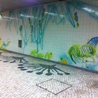 Photo taken at Metro Jardim Zoológico [AZ] by Julia D. on 9/7/2012