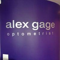 Photo taken at Alex Gage Family Optometrist by Alex G. on 2/9/2012
