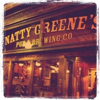 Photo taken at Natty Greene's Pub & Brewing Co. by Megan W. on 12/28/2010