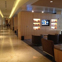 Photo taken at American Airlines Admirals Club DFW-A by Nigel F. on 8/22/2012