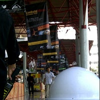 Photo taken at Hall B-2 JIEXPO Kemayoran by Moniquenya T. on 5/2/2012
