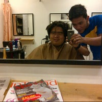 Photo taken at Me & you hair salon by Abdul Manaf Y. on 2/7/2012