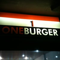 Photo taken at One Burger by Lucas R. on 7/1/2012