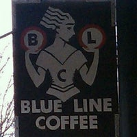 Photo taken at Blue Line Coffee by Anthony M. on 4/25/2011